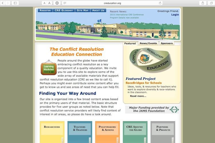 CREducation.org website screenshot