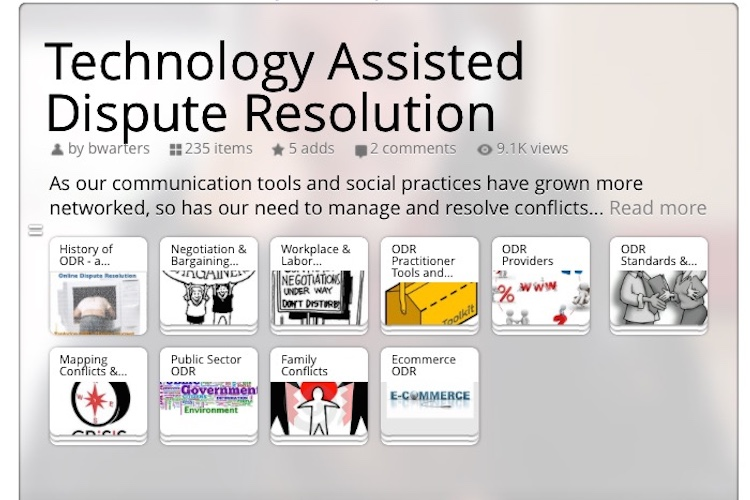 Collection of Resources related to Technology-Assisted Dispute Resolution