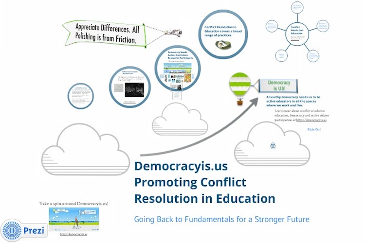 Democracyis.us presentation screenshot.